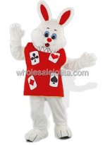 Alice in Wonderland Bunny Mascot Costume