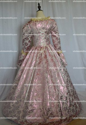 New Marie Antoinette Masked Ball Gothic Victorian Dress