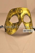 Vintage Venetian Halloween Cosplay Masquerade Mask for Men