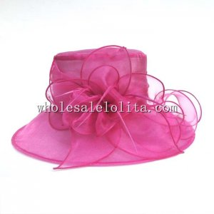 2014 Summer Elegant Ladies Organza British Kentucky Derby Hat