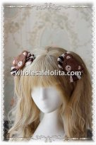 INFANTA Lovely Bear Sweet Lolita Hair Clip