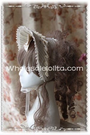 New Victorian Era Bonnet Lolta Headdress Colors Hairpin Included