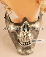 Brown Halloween Scary Skeleton Masquerade Mask