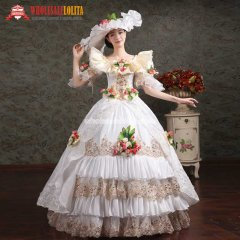 Women's Prom Gothic Victorian Fancy Palace Masquerade Dresses