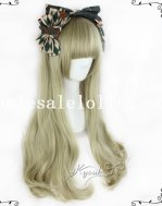 Japan Harajuku Lolita Long Straight Hair Wig for Girls