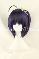 Cosplay Anime Short Straight Heat Resistant Mix-colored BOBO Wig