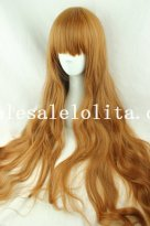 Brown Long Straight Hair Wig for Girls