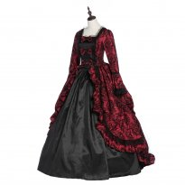 French Victorian Dress Victorian Women Dress Period Dress Theatrical Steampunk Costume