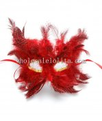 Hot Sale Women Feathered Half Face Masquerade Masks