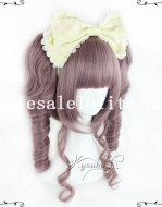 Fashion Girl Cosplay Anime Long Wavy Hair Full Wig