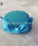 New British Style Wool Bow Ladies Winter Hat