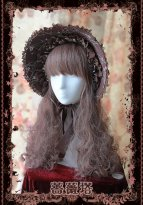 Sleeping Beauty Coffee Victorian Era Bonnet Classic Lolta Headdress