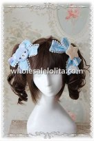 INFANTA Cute Bear Sweet Lolita Hair Bows 3 Colors