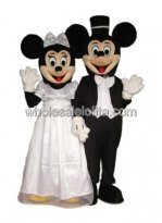 Male Mickey and Minnie Mouse Cartoon Charecter Costume