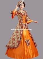 Historical Marie Antoinette Inspired Ball Gown Stage Costume Many Colors M1