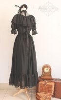 Top Sale Black Lace Gothic Lolita Dress/Vintage Dress