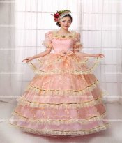 18th Century Rococo Style Marie Antoinette Inspired Prom Dress Wedding Ball Gown/Historical Balls