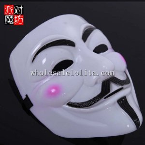 Drama Cosplay Theme Party Full Face Masquerade Mask