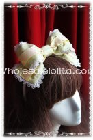 Cream House Yellow Sweety KC Lolita HeadBand
