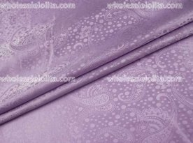High-End Fissidens Jacquard Silk Fabric