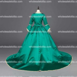 New Blue Southern Belle Victorian Wedding Ball Gown Dresses