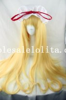 Girls Long Straight Japanese Wig for Cosplay