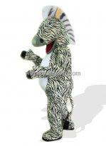 Cool Adult Zebra Mascot Costume