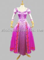 Disney Cosplay TANGLED Princess Rapunzel Adult Costume Stage Costume