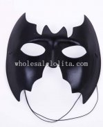 Cosplay Blank Black Bat Masquerade Mask