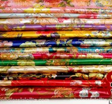 Gorgeous Flower Brocade Fabric 14 Colors