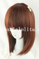 Fashion Girl Heat Resistant Straight Hair Cosplay Wig