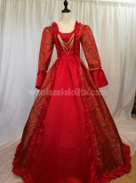 Women's Rococo Ball Gown Gothic Medieval Dress Costume