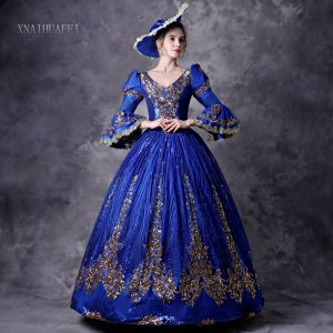 Halloween Party Dress Baroque Victorian Dress Victorian Women Dress Period Dress Ball Gown