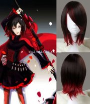 Anime RWBY Ruby Cosplay Wig