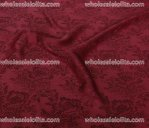 High-End Retro Peony Jacquard Silk Fabric