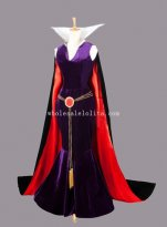 Disney SNOW WHITE Evil Queen Cosplay Costume Fancy Party Dress