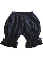 Hot Sell Best Black Cotton Lace Lolita Bloomers