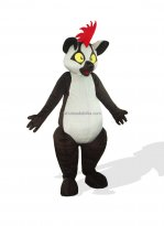 Pilate Grams Adult Lemurs Plush Costume