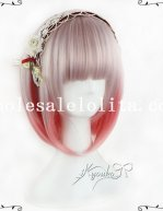 Japan Harajuku BOBO Short Straight Sweet Lolita Wig