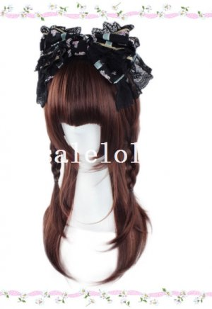 Long Heat Resistant Lolita Straight Full Hair Wig