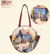 2014 New Fairy Tale Town Printing Girls Sweet Lolita Bag