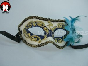 Manual Blue Costume Party Mask