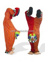 Handstand Clown Adult Plush Monster And Fantasy Costume