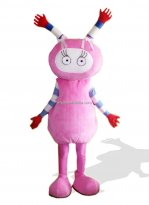 Pink Elvish Shyde Plush Adult Mascot Costume