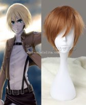 Anime Cosplay Armin Arlart in Attack on Titan Cosplay Wig