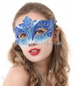 Glitter Carnival Venetian Masquerade Half Face Mask for Adult and Child