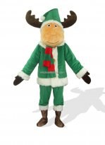 Christmas Deer Plush Costume for Adult