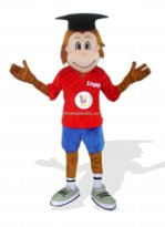 Doctor Monkey Plush Adult Jungle Animal Costume