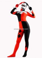 Halloween Funny Clown Cosplay Costume Lycra Zentai Bodysuit