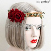Halloween Rose Ring Headdress Masquerade Party Accessories